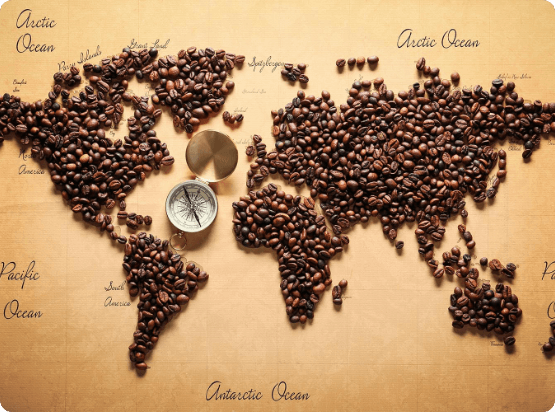 Coffed - Coffe World Map