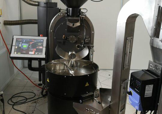 Automatic coffee roaster