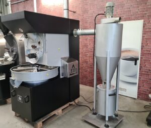 Probat roaster with cyclone