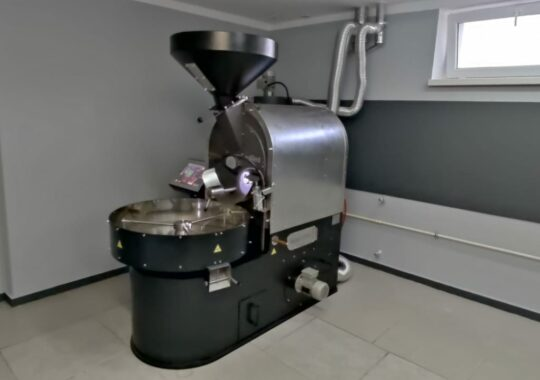 15 kg automatic coffee roaster