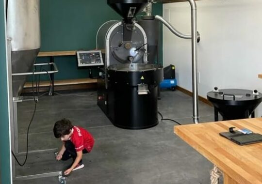 15kg coffee roaster set