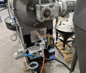 SR25 burner + motor