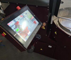 panel kontrolny do palenia kawy